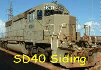 SD40 siding