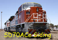 SD70ACe siding