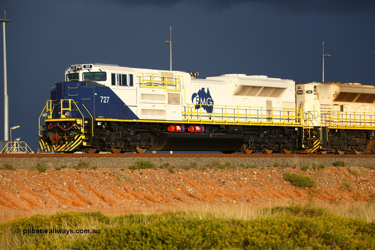FMG operates new SD70ACe-P6 model locos.