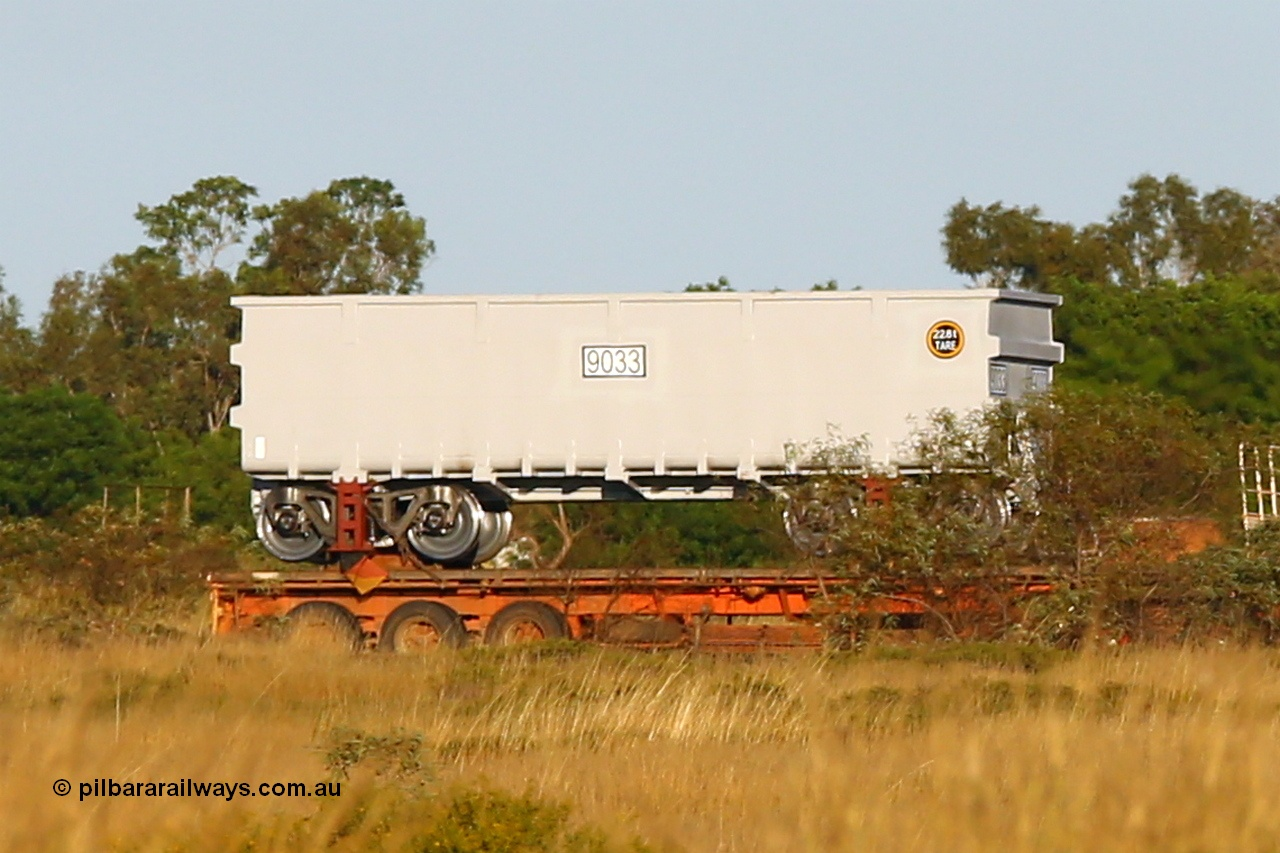 FMG receives more ore waggons.