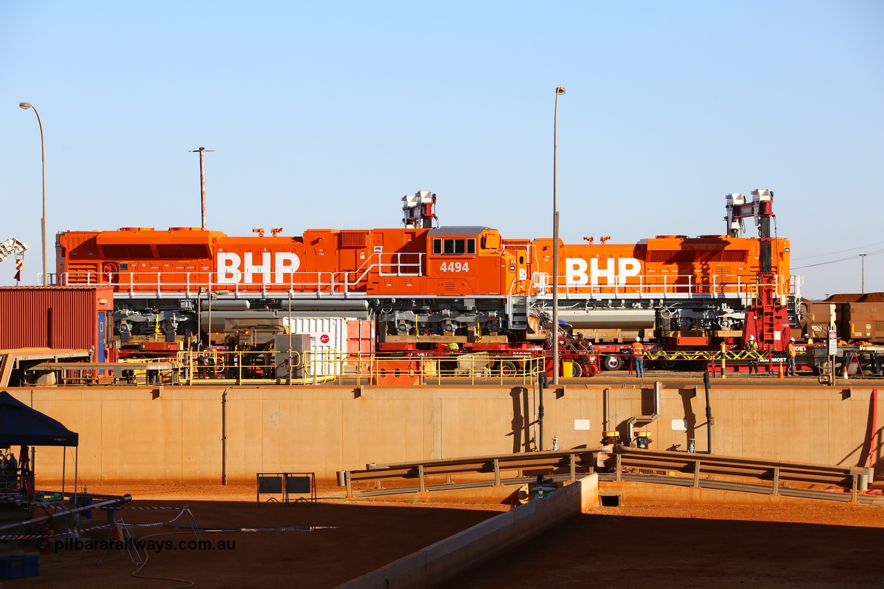 BHP SD70ACe/Lci unit delivery continues.