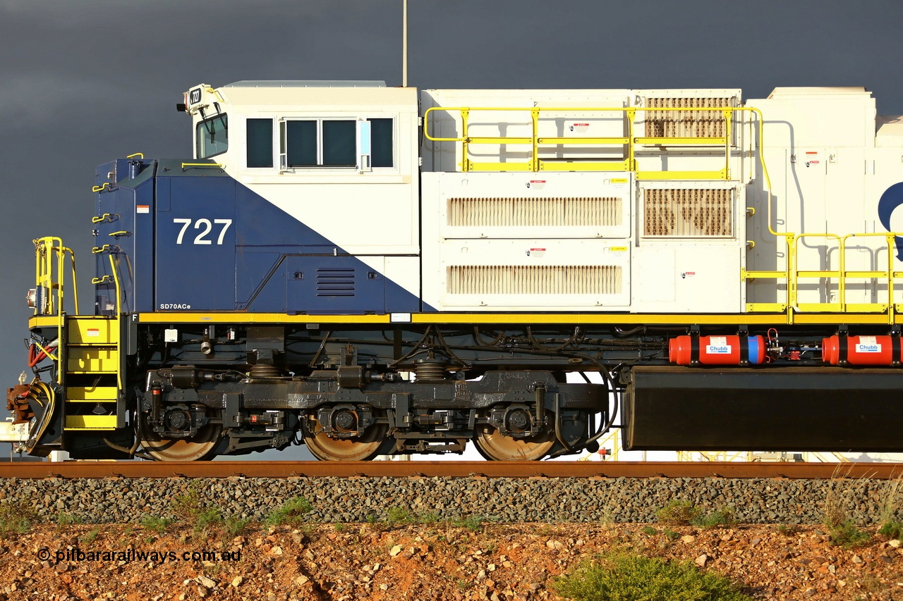 How to spot an SD70ACe-P6.